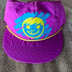 NEFF smiley face graphic SnapBack NEW PINK